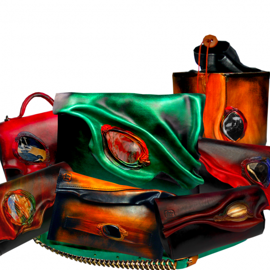 Violas Classic Style Leather Handbags Collection